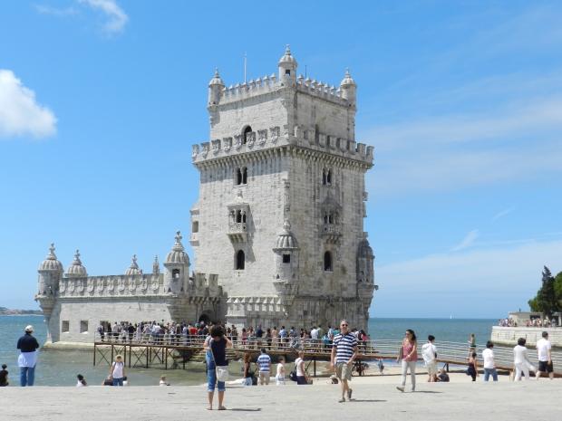 Torre de Belém, um dos símbolos de Lisboa | Crédito: Giuliana Miranda/Folhapress