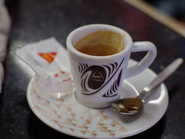 O café expresso em Portugal é um pouco menor do que no Brasil Crédito: Tiago Irrepupavel/Flickr/CC
