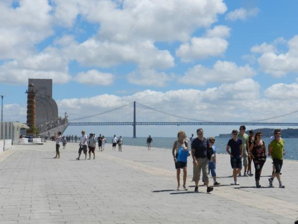 Lisboa concentra maior parte das visitas dos brasileiros | Foto: Giuliana Miranda