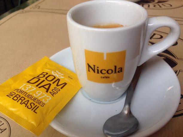 Em algumas regiões de Portugal, bica quer dizer cafezinho Crédito: Giuliana Miranda
