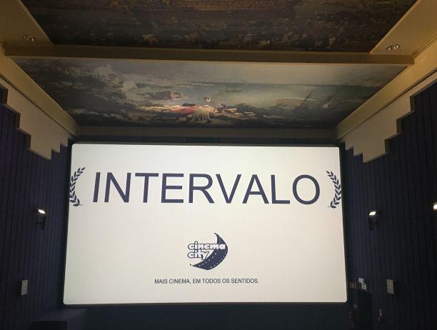Várias salas de cinema têm intervalos na exibição dos filmes | Crédito: Giuliana Miranda
