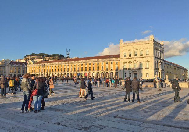 Região da baixa de Lisboa concentra falsos traficantes que enganam turistas vendendo drogas falsas | Crédito: Giuliana Miranda
