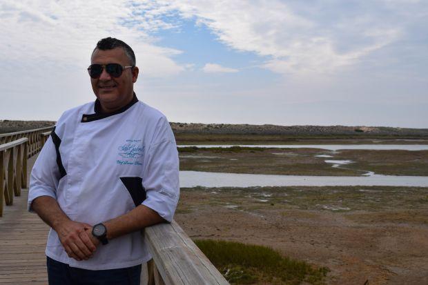 Leonel Pereira costuma visitar a região da ria formosa, no Algarve, em busca de inspiração