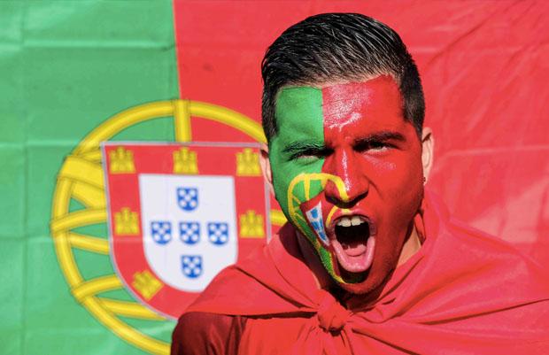 Torcedor da seleção de Portugal na Eurocopa (Foto: Federação Portuguesa de Futebol)