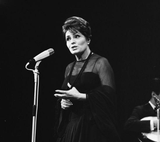 Amália Rodrigues se apresenta em 1969 (Foto: Fotocollectie Algemeen Nederlands )