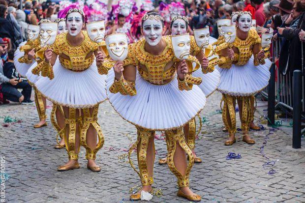 Carnaval de Sesimbra tem desfiles e fantasias elaboradas | Foto: Carnaval de Sesimbra