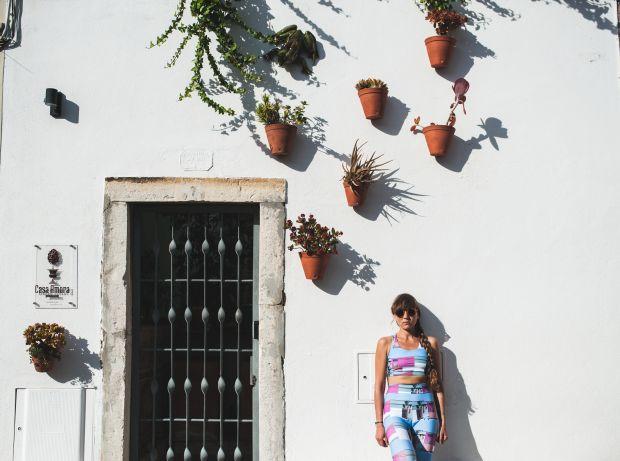 Fachada da Casa Amora foi uma das inspirações da artista
