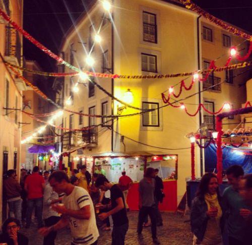 Arraiá de santo Antônio em Lisboa | Foto: Giuliana Miranda