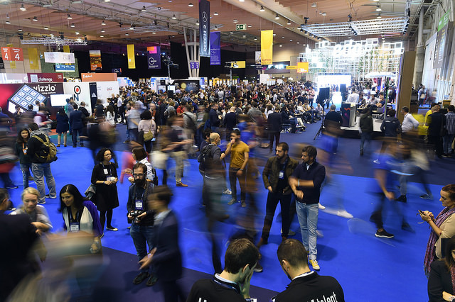 Empreendedores no Web Summit | Foto:  David Fitzgerald/Web Summit via Sportsfile