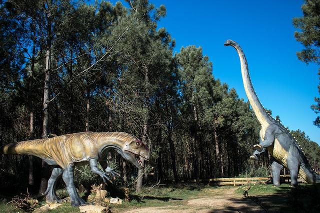 Dino Parque Lourinhã | Foto: Giuliana Miranda/Folhapress