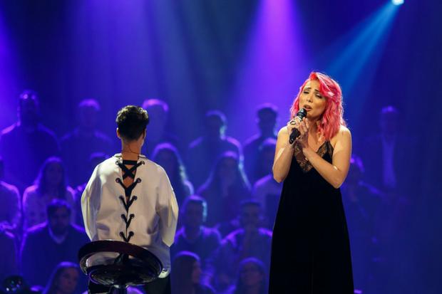 Cláudia Pascoal teve a segunda maior nota da noite deste domingo | Foto: Divulgação RTP