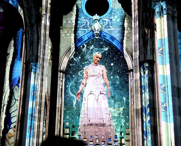 A fadista Mariza empresta sua voz e imagem para o espetáculo | Foto: Divulgação
