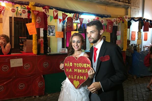 Casamento de santo António | Foto: Giuliana Miranda/Folhapress