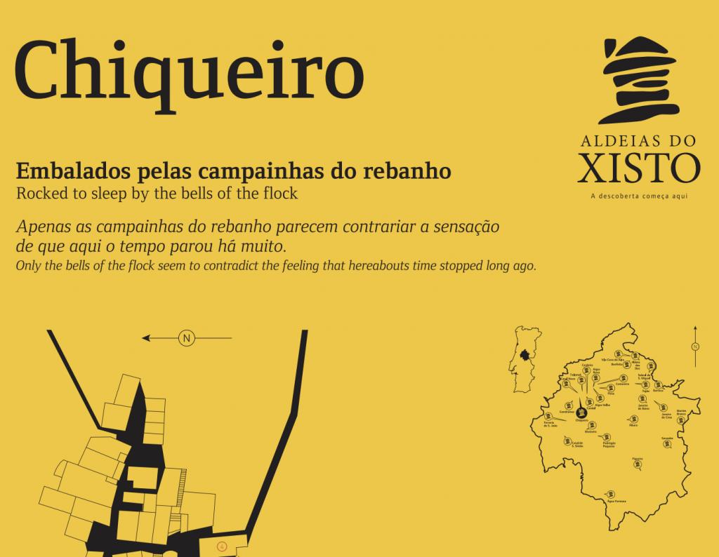 Aldeia de Chiqueiro é ponto turístico histórico em Portugal | Foto: Reprodução