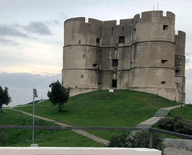 Castelo bem preservado é uma das atrações de Evoramonte | Foto: Giuliana Miranda/Folhapress