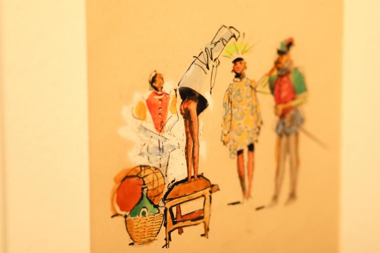 Cores vivas e traços delicados marcam trabalho do artista | Foto: Divulgação