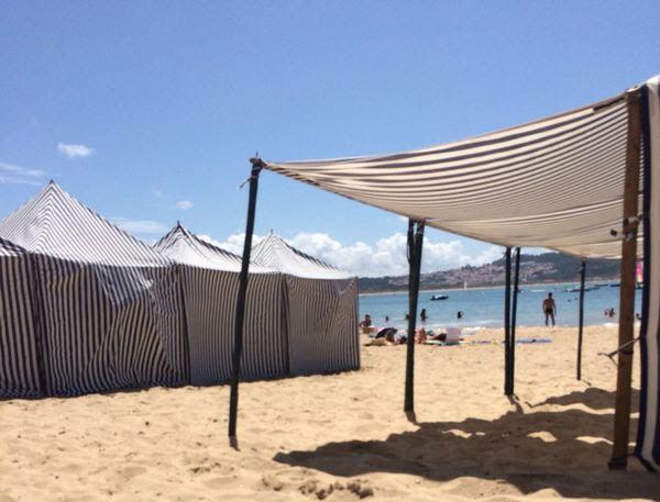 Praias menos turísticas costumam ter a opção de aluguel pelo verão todo | Foto: Arquivo Pessoal