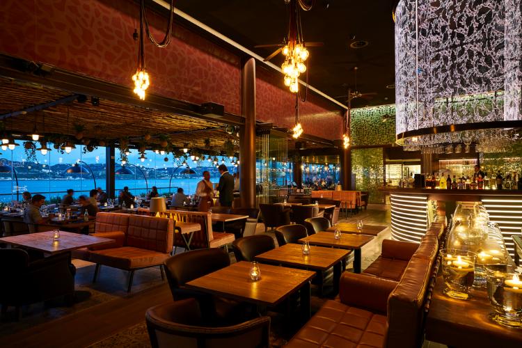 Restaurante tem vista privilegiada para Lisboa | Foto: Divulgação