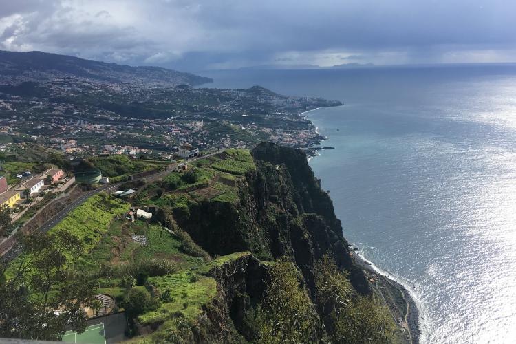Belezas naturais da Madeira são o principal atrativo turístico do arquipélago | Foto: Giuliana Miranda/Folhapress
