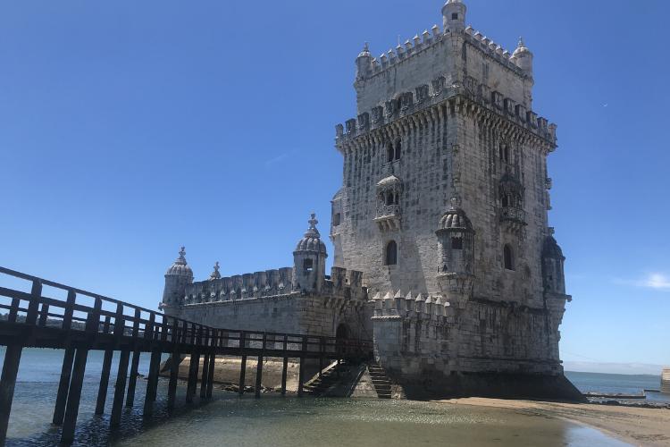 É possível visitar virtualmente a Torre de Belém, um dos principais cartões postais de Portugal | Foto: Giuliana Miranda/Folhapress