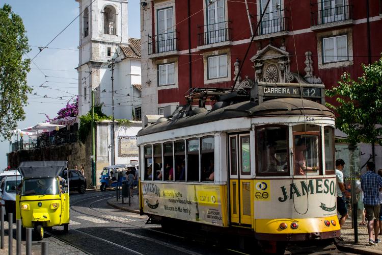 Os bondinhos (eléctricos) são um dos símbolos da cidade | Foto: Giuliana Miranda/Folhapress