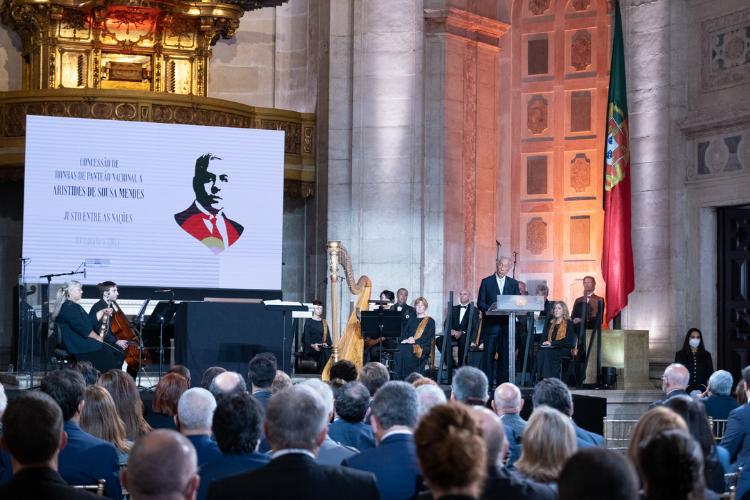 Aristides de Sousa Mendes, o 'Schindler português', é agora homenageado no panteão nacional